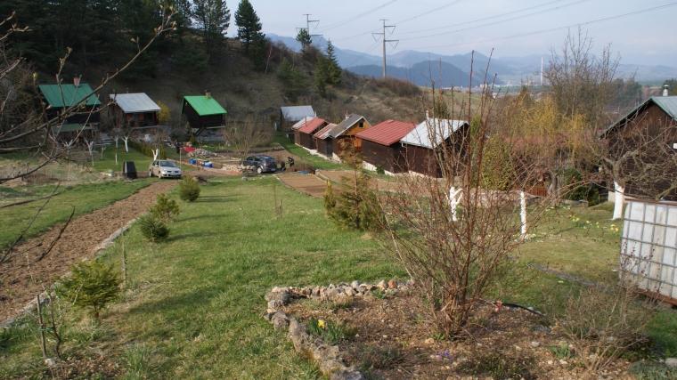 Zrekonštruovaná záhradná chatka so záhradou, Ružomberok -Jánová dolina