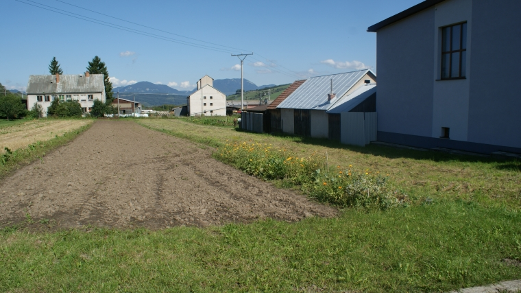 Stavebný pozemok pre 2 stavby o výmere 1550m2, Ľubeľa