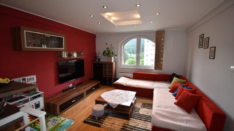 2-izbový byt prerobený na 3-izbový, ul.Klačno