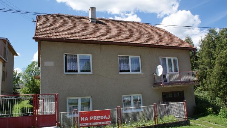 Rodinný dom s peknou záhradou, Liptovská Štiavnica
