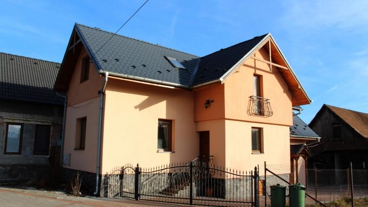 Zrekonštruovaný rodinný dom, Liptovská Teplá