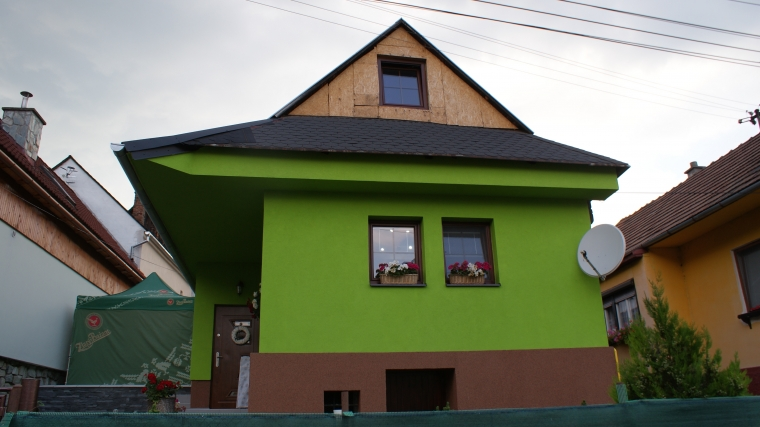 Nadštandardne zrekonštruovaná drevenica, Ružomberok - Černová