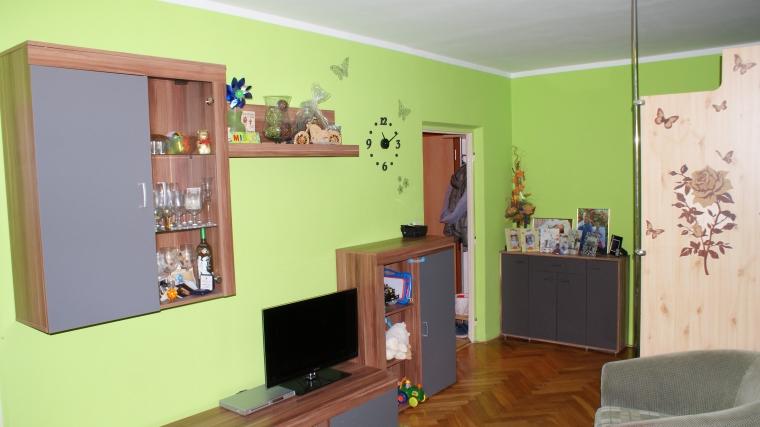 Zrekonštruovaný 2-izbový byt prerobený na 3-izbový, ul.M.R.Štefánika